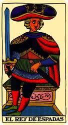 Significado del Rey de Espadas en el Amor
